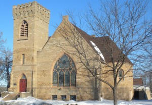 Cannon Falls UCC - winter